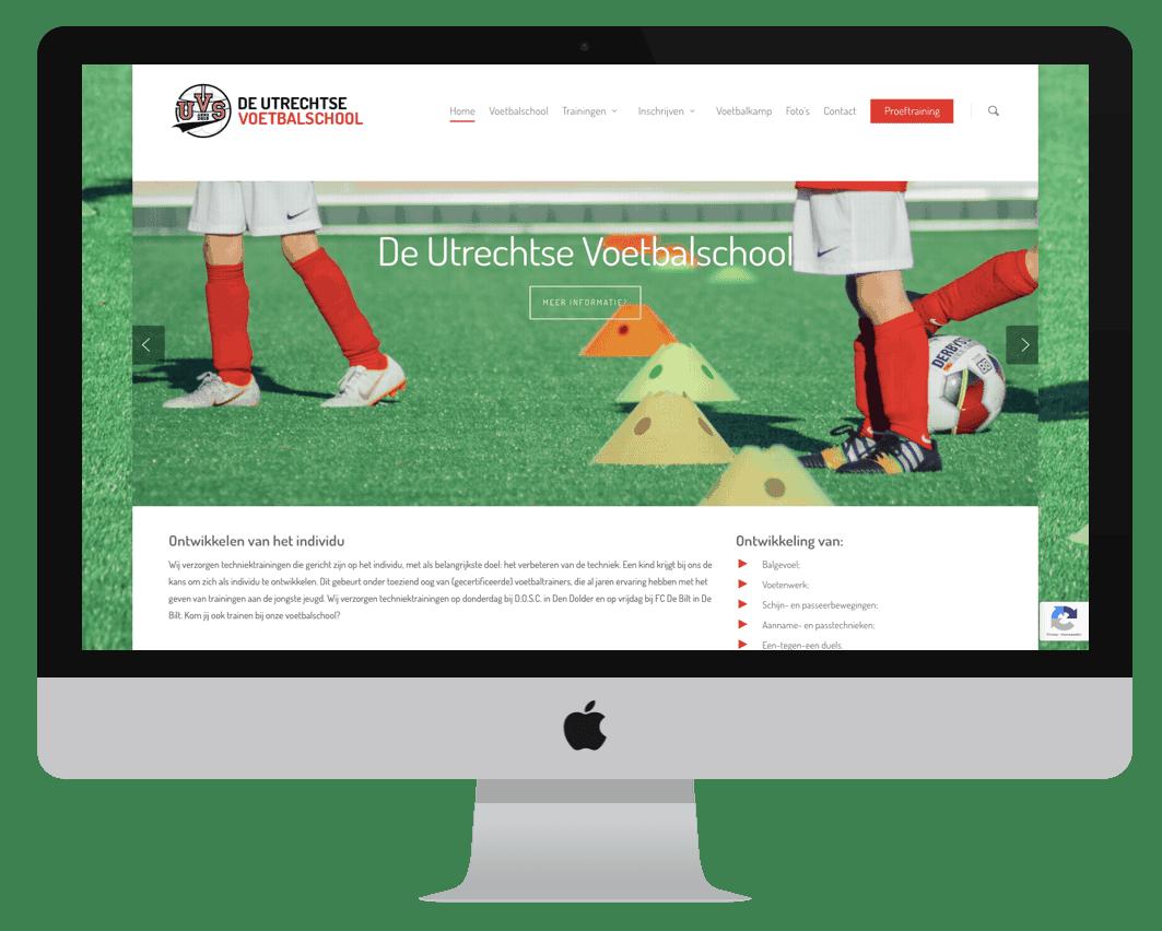KDWebdesign-internetbureau-bilthoven-klant-de-utrechtse-voetbalschool